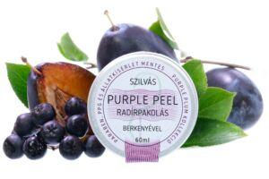 Purple Peel radírpakolás