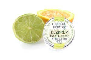 Citrusliget hidratáló kézkrém