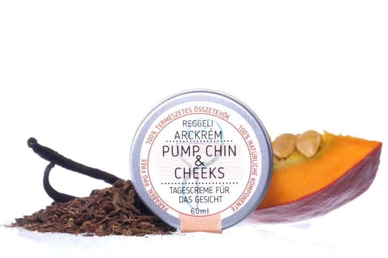 PumpChin & Cheeks reggeli arckrém
