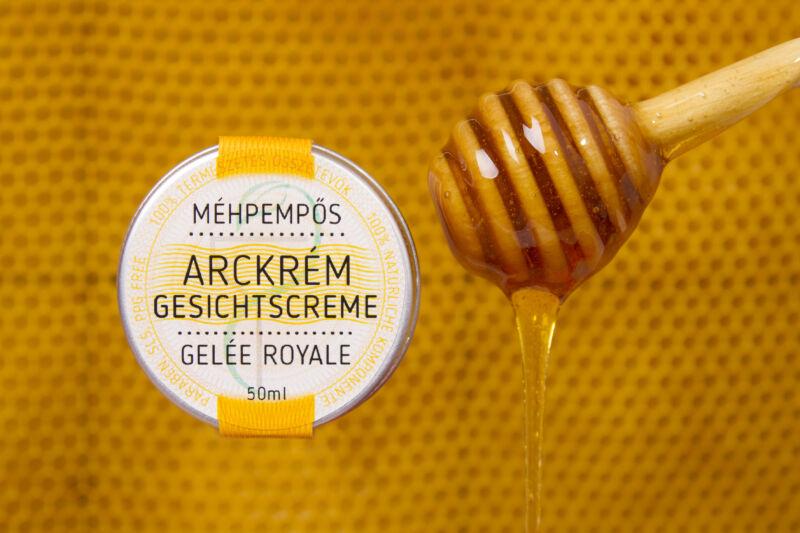 Méhpempős arckrém